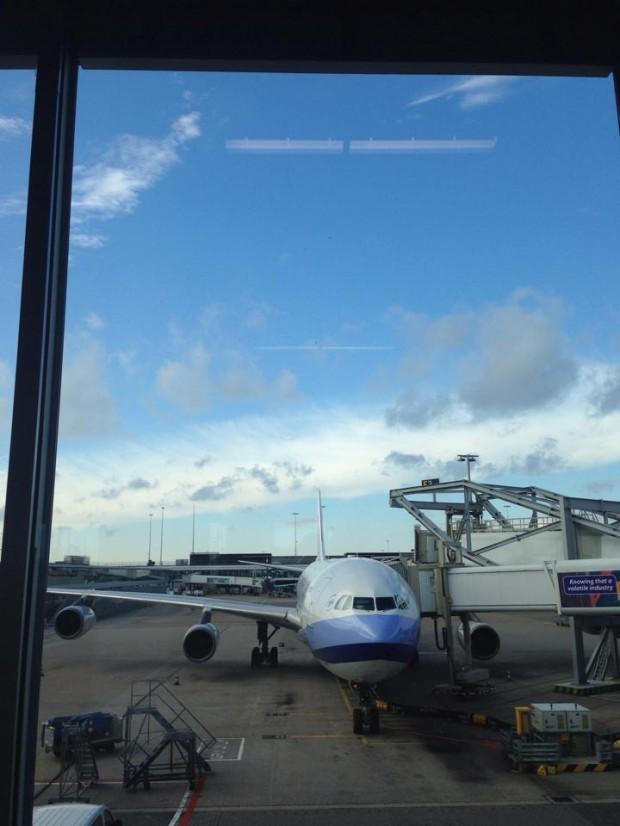 Schipol lufthavn i Amsterdam