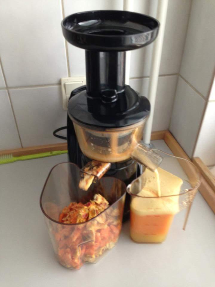 Hjemmelavet juice med slow juicer - Sadan startede jeg
