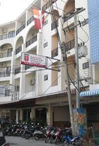 Hotel Dania front